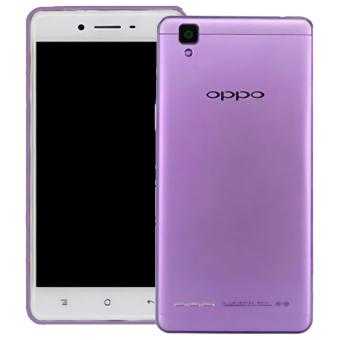 Best Seller Aircase Ultrathin For Oppo F1 Purple Clear .