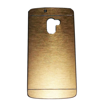 Harga Motomo Lenovo K4 Note / A7010 Metal Back Cover / Metal Hardcase / Hardcase Backcase / Metal Case - Gold