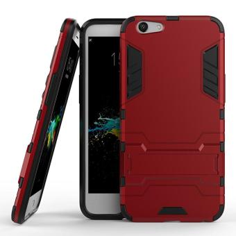 Case Oppo F1S / A59 Shield Armor Kickstand Avenger Series - Red