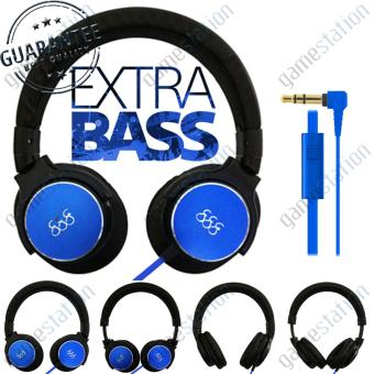 Harga 888 Stereo Headphones Bass Booster