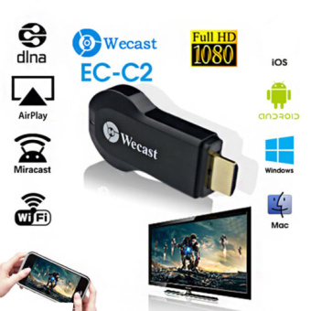 Harga Miracast Tampilan Wifi Receiver Dongle 1080P Wireless AirPlay DLNA