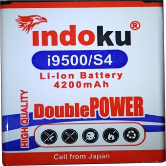 Harga Indoku Battery Double Power for Samsung Galaxy S4 / i9500 (3600 mAh)