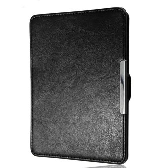 HKS Magnetic PU Leather Case Cover for Kobo Glo Black - intl .