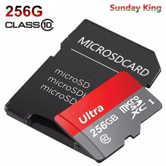Harga Plus 80MB/s 256GB Micro SD Memory Card Cameras Camera Accessories Memory Cards Micro SD Cards - intl