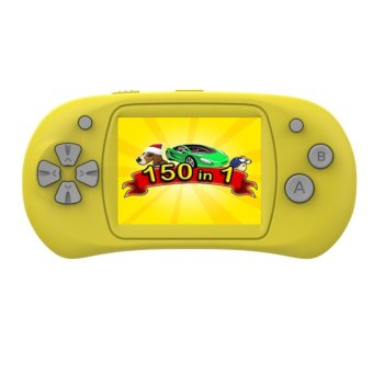 Harga Mini Handheld Game Console Controller 2.4 inch LCD TFT Screen Built-in 150 Games - intl