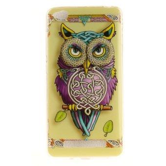 Moonmini Case for Xiaomi Redmi 4A Ultra Slim Soft TPU Back Case Colorful Owl