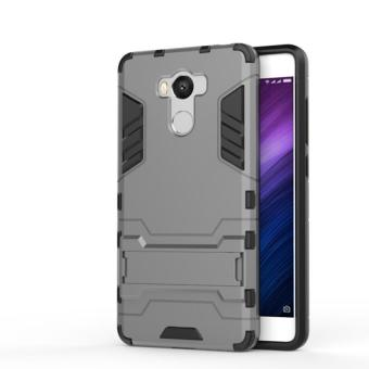 Case Iron Man for Xiaomi Redmi 4 Prime Robot Transformer Ironman Limited Grey .