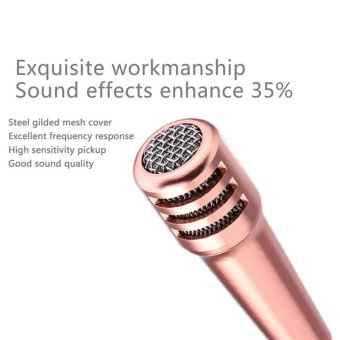 Sowikanshop Micro Usb & 35 Mm Mini Karaoke Microphone Mic Android Source · Fashion 3 5mm Mini Smartphone Microphone Wired Stereo Condenser Mic For IPhone ...