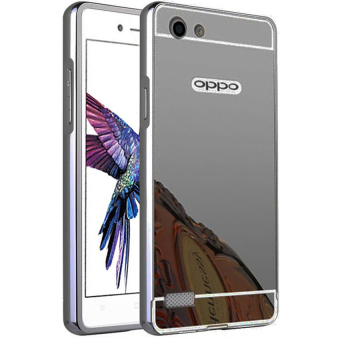 Rose Gold Free Source Case For Oppo Neo 7 A33 Bumper Slide Mirror .