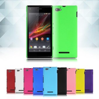 PLATIM Slim Fit Hard PC Back Cover Case Skin for Sony Xperia M .