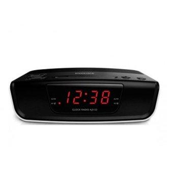 Philips AJ-3123 Alarm Digital Clock Radio - Hitam .