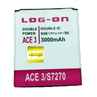 Harga Log On Battery Double Power For Samsung Galaxy Ace 3 / Ace 4 / StarPro / Infinite