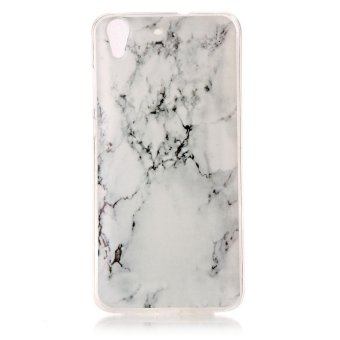 Moonmini Case for Huawei Y6 II Y6 2 Lightweight Soft Silicon Back Case - Marble -