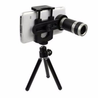 Harga Mobile Phone Telescope - Universal Optical Zoom Camera