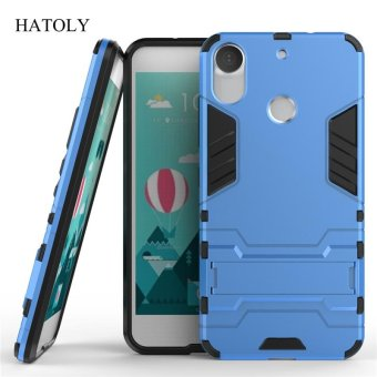 "Harga For HTC Desire 10 Pro Case Shockproof Robot Armor Case Hybrid Silicone Rubber Hard Back Phone Cover For HTC Desire 10 Pro 5.5"" - intl"