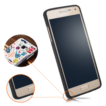 RUILEAN Soft TPU Case For Samsung Galaxy A5 2015 Pattern 3D Embossed Painting .