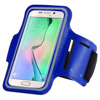 Harga Armband for Samsung Galaxy Grand Prime Plus - Biru
