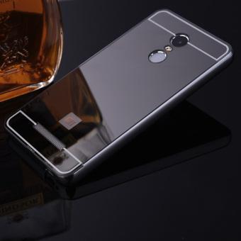 Xiaomi Redmi Note 4 phone Case,Luxury Metal Air Aluminum Bumper Detachable + Mirror Hard