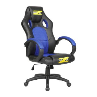 Harga BraZen Shadow PC Gaming Chair - Black and Blue