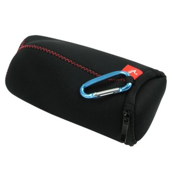 Harga Travel FLIP Zipper Sleeve Bag Case for JBL Pulse JBL Charge 2 Bluetooth Speaker