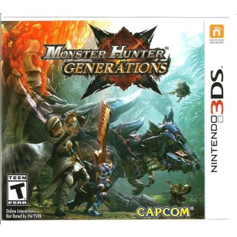 Harga Nintendo 3DS Monster Hunter Generations