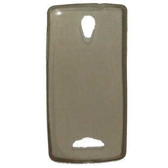 Harga Emco for Oppo R2001 Yoyo Hard Protective Guard Soft Rubber Ultra Fit Silicon Case - Abu-abu