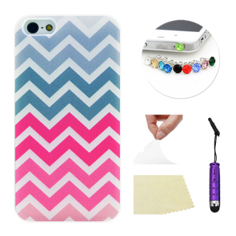Moonmini Case for Apple iPhone 5 5S Ultra-thin Soft TPU Phone Back Case Cover