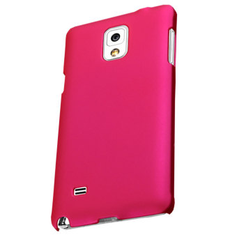 Shield Samsung Galaxy Note 4 Premium Imported Cool Cover Frosted Case - Hot Pink - 2