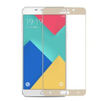 3D Full Cover Colour Tempered Glass Screen Protector for Samsung Galaxy J5 2015 .