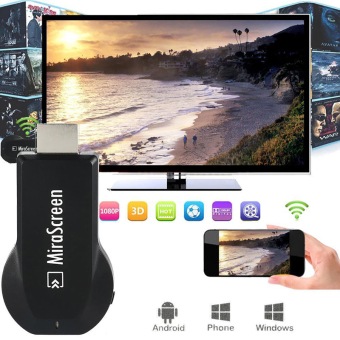 Harga Mirascreen Miracast tv tetap Airplay Dongle proyeksi untuk iPhone iPad Android Smartphone Tablet AH094