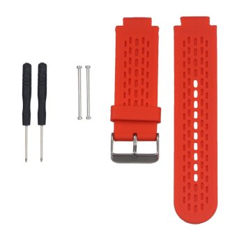 Epixwith Metal Clasps Watch Source Replacement Silicone Watch Band Strap for Garmin .