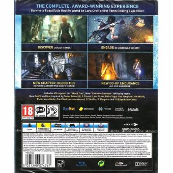 Detail Gambar Sony PlayStation PS4 Rise of the Tomb Raider (R2) Terbaru