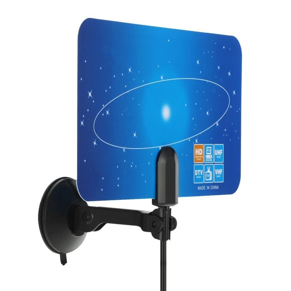 Price Checker Indoor Digital Tv Antenna Pal Standard 1080p Analog Antena Dalam Tarik Vhf Ampamp Uhf Signal Iec Connector For