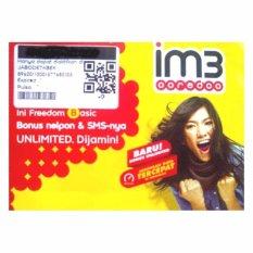 Indosat im3 Ooredo 4G LTE 0815 8484 5533 kartu perdana nomor cantik