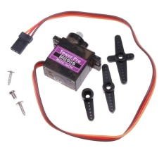 iokioh Black MG90S Gear Micro Servo For RC Helicopter Plane intl .