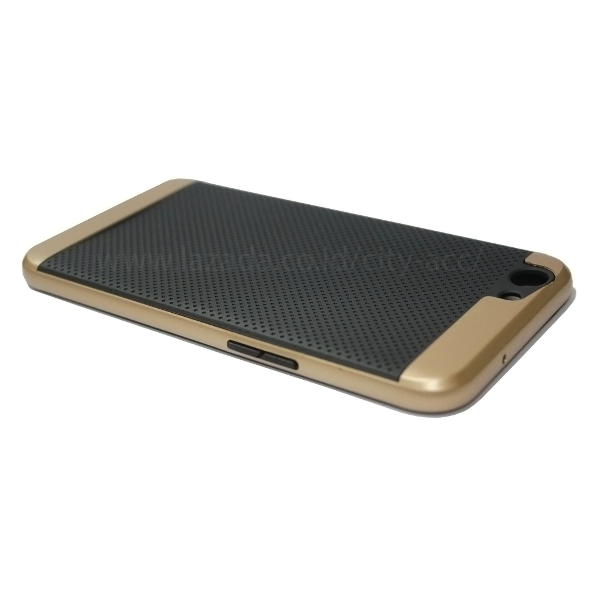 iPaky Case For Oppo F1 S - Gold .