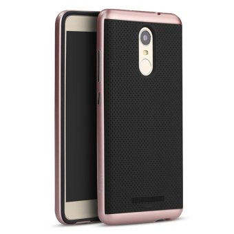 Ipaky Case Xiaomi Redmi Note 3 / Redmi Note 3 Pro Neo Hybrid SeriesOriginal - Rose Gold