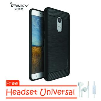 ipaky ipaky Carbon Hybrid Back Case for Xiaomi Redmi Note 4x Free Handsfree