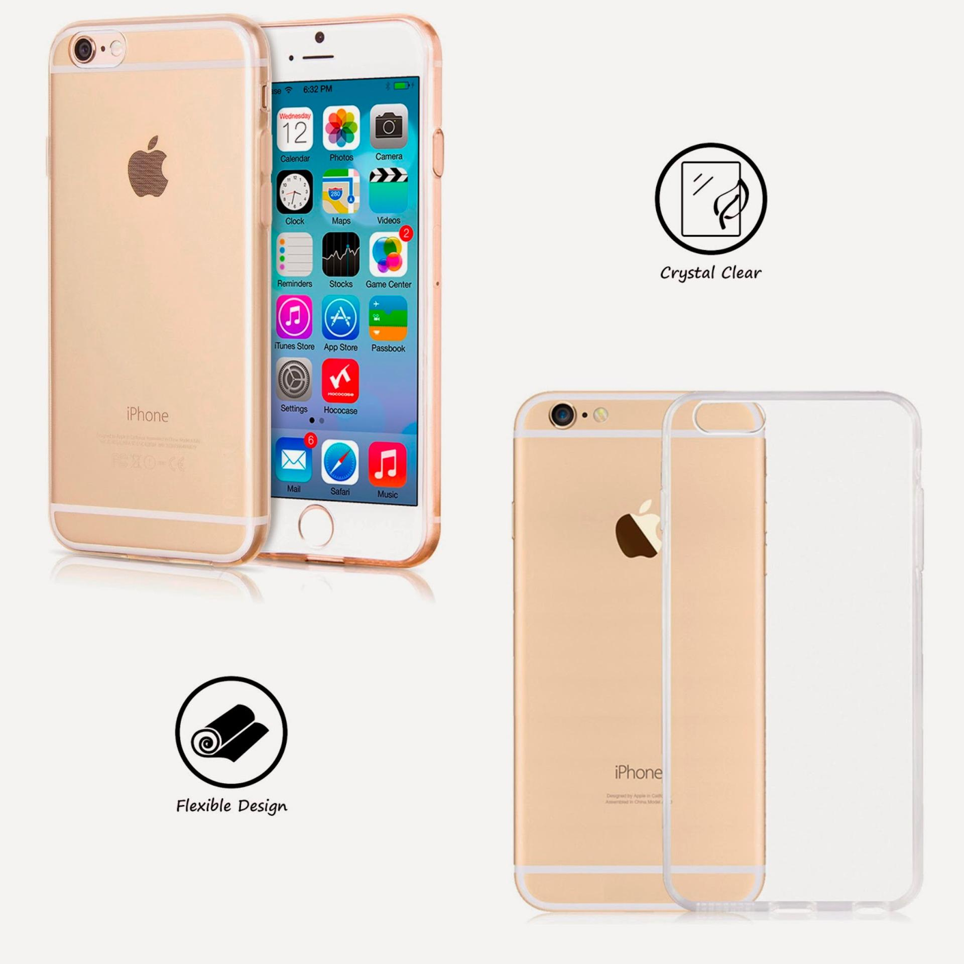 Iphone 6 / 6s UltraThin / Ultra thin / Soft Jelly Case .