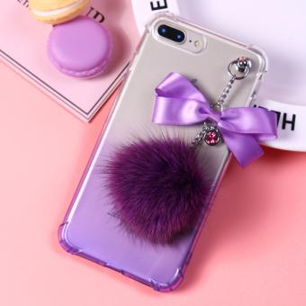 PENAWARAN Iphone7plus bola rambut tali pendek Apple ID handphone set handphone shell TERMURAH