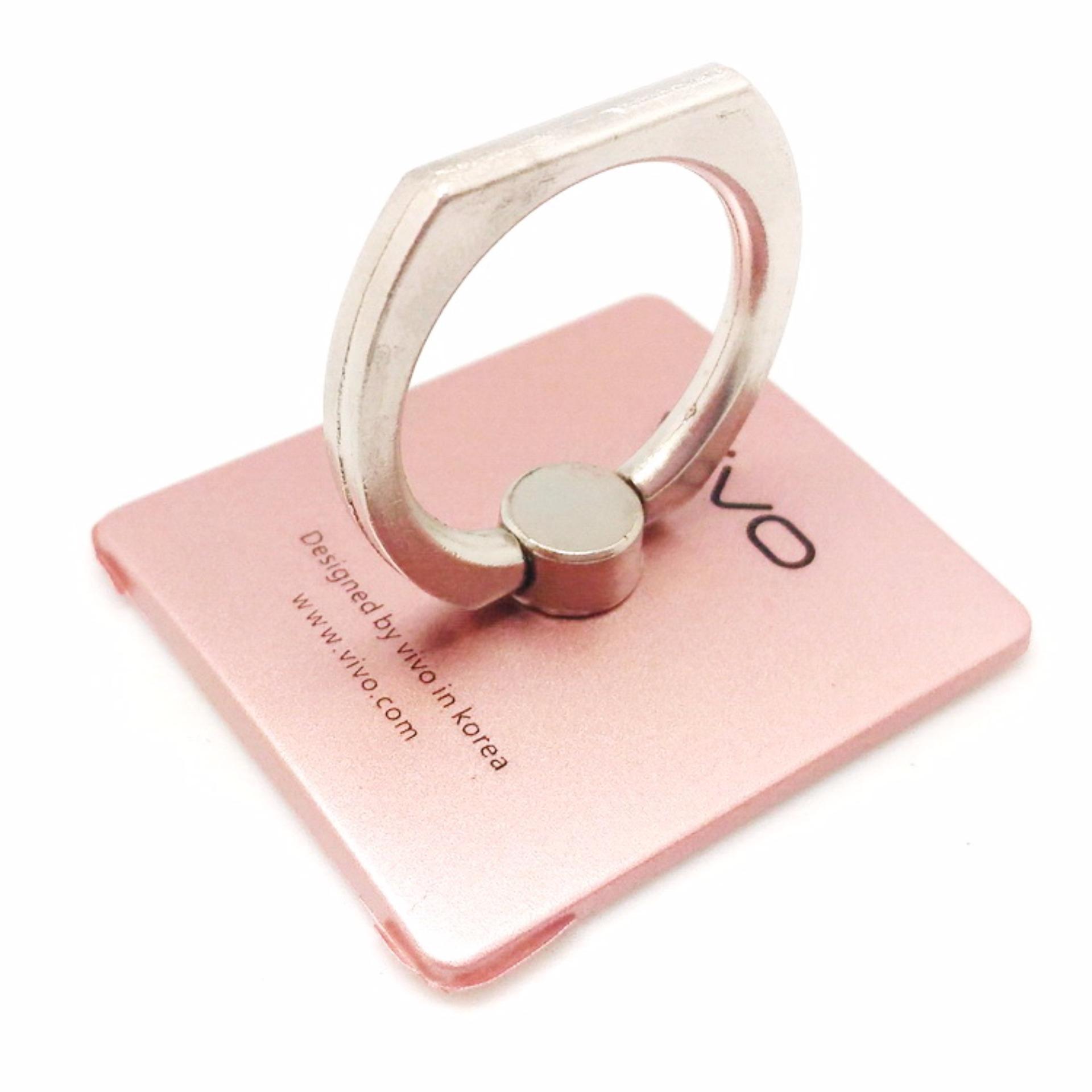 iRing Smartphone Grip - iRing Stand Phone Holder 360 Degree Rotation - Pink .