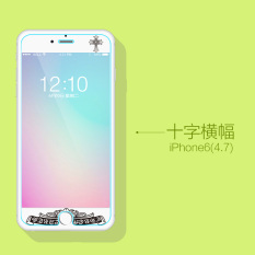 Jane wyatt iphone6s/6plus kartun apel filter warna pelindung layar pelindung layar pelindung layar