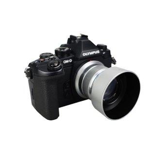 ... JJC LH-J40B Silver Lens Hood For Olympus M.Zuiko Digital 45mm 1: ...