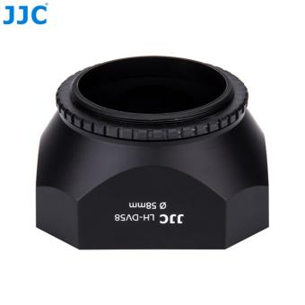 ... JJC PRO 58mm Square Camcorder DV Lens Hood + Cap + Keeper for SONYJVC CANON ...