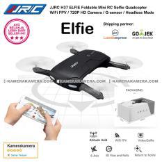 JJRC H37 ELFIE Foldable Mini Drone RC Selfie Quadcopter WiFi FPV / 720P HD Camera / G-sensor / Headless Mode - Black Original
