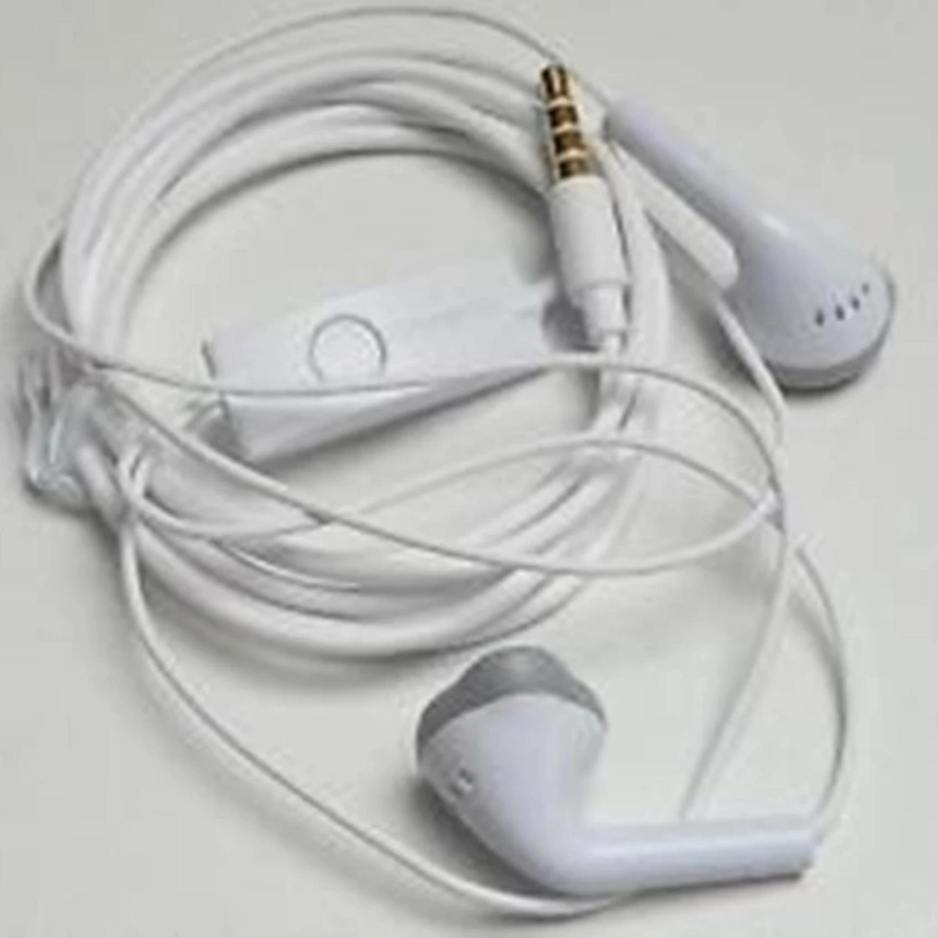 Jungle Original Headset / Handfree / earphone - Putih .