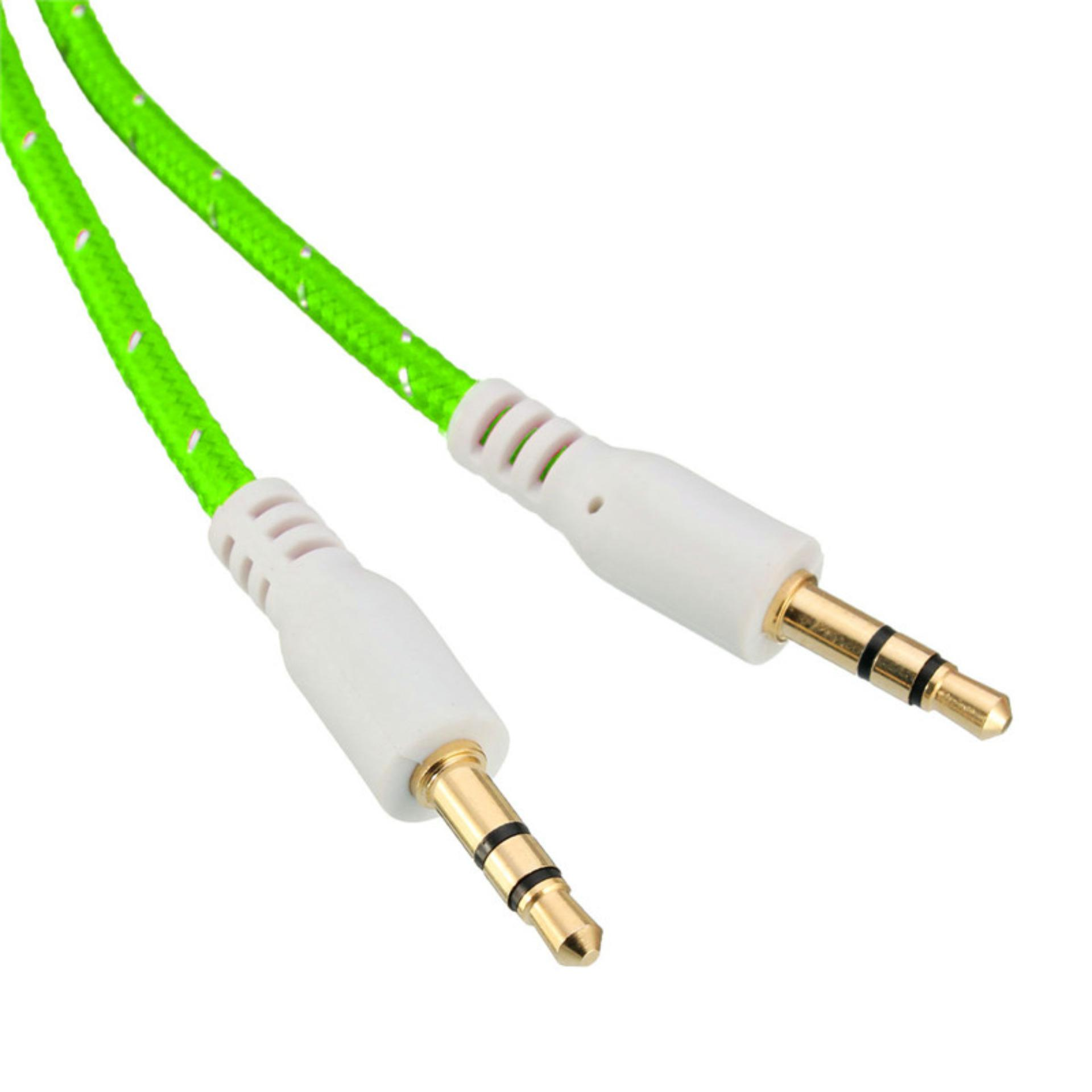 KABEL AUDIO HP KE SPEAKER 1 KE 1 JACK 35MM Source . Source · Kabel Aux Bulat 3.5mm Jack Tali Sepatu - Hijau + Gratis 1 .