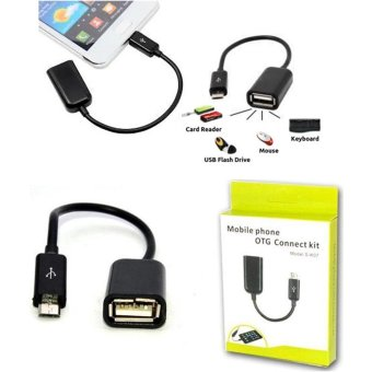 Detail Gambar Kabel OTG Micro Usb Connection Kit Adapter for Samsung Galaxy A5(2017)