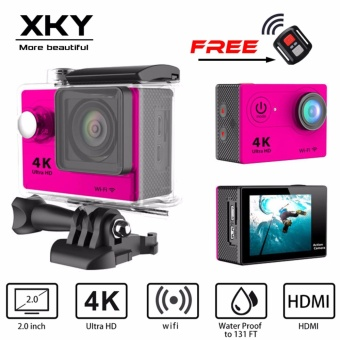 Kamera Aksi H9 Ultra HD 4K/30fps Kamera olahraga 1080P/60fps WiFi2.0LCD 40m Waterproof Mini Camera Sports DV