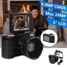 Kamera Digital Camcorder 24 Megapiksel FHD 1080 P Video 3 Inci LCD With Lensa Sudut Lebar LF748
